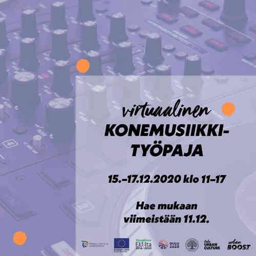 Oulu Urban Culture-konemusiikkityöpaja