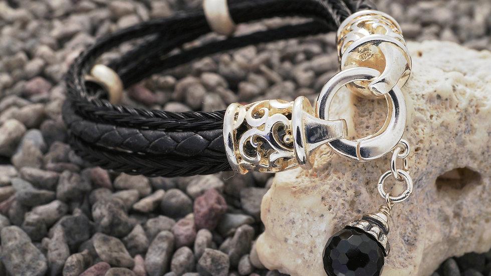 Armband aus geflochtenem Pferdehaar