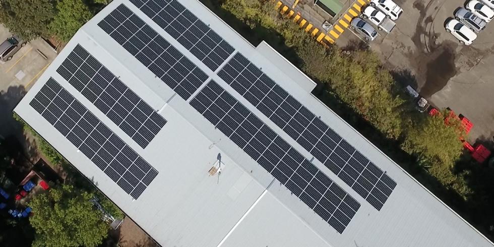 Solar for business & saving on energy bills