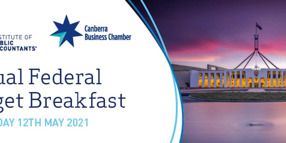 Federal Budget Breakfast