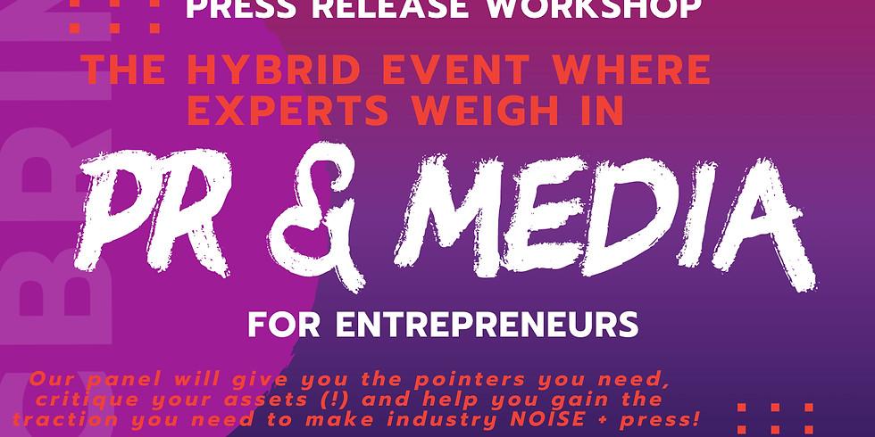 Press Release Workshop for Entrepreneurs