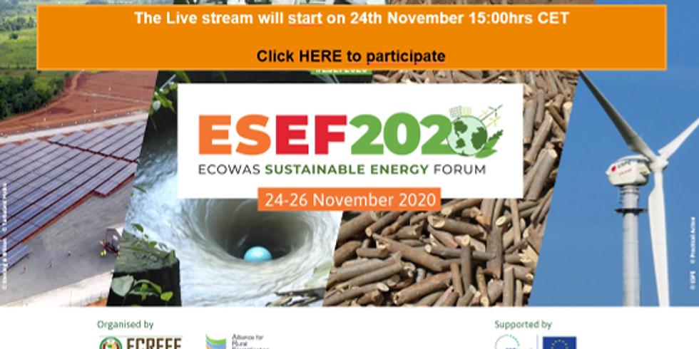 ECOWAS Sustainable Energy Forum 2020 (ESEF 2020)