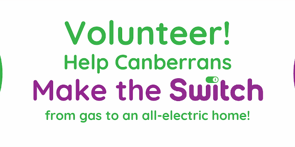 Volunteer for gas community outreach