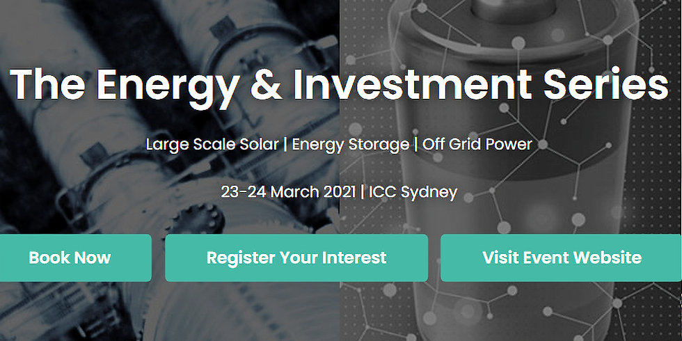 The Energy & Investment Series