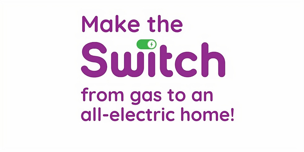 Make the Switch to an all-electric home