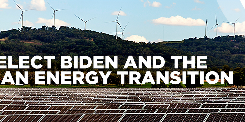 President-Elect Biden and the global clean energy transition