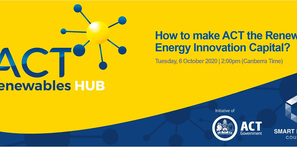 How to make ACT the Renewable Energy Innovation Capital?
