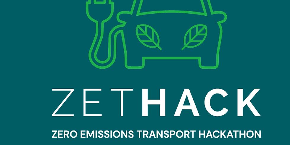 ZET Hack: Zero Emissions Transport Hackathon