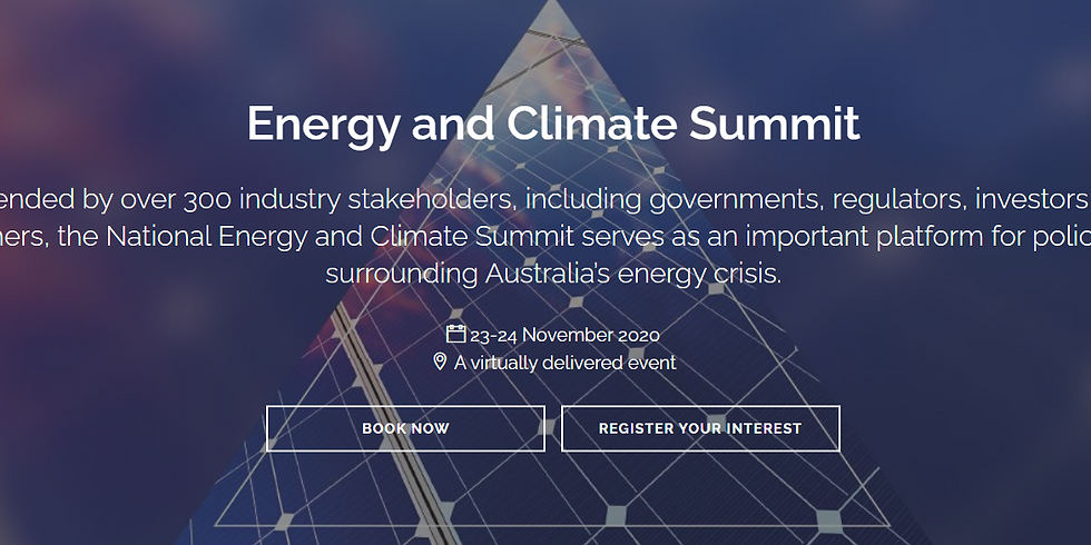 AFR Energy and Climate Summit