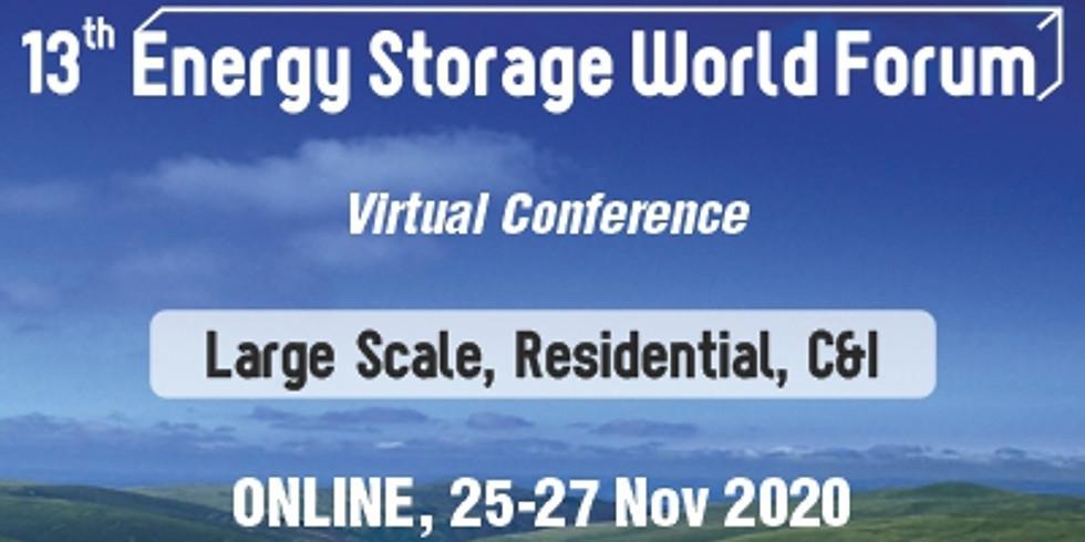 13th Energy Storage World Forum