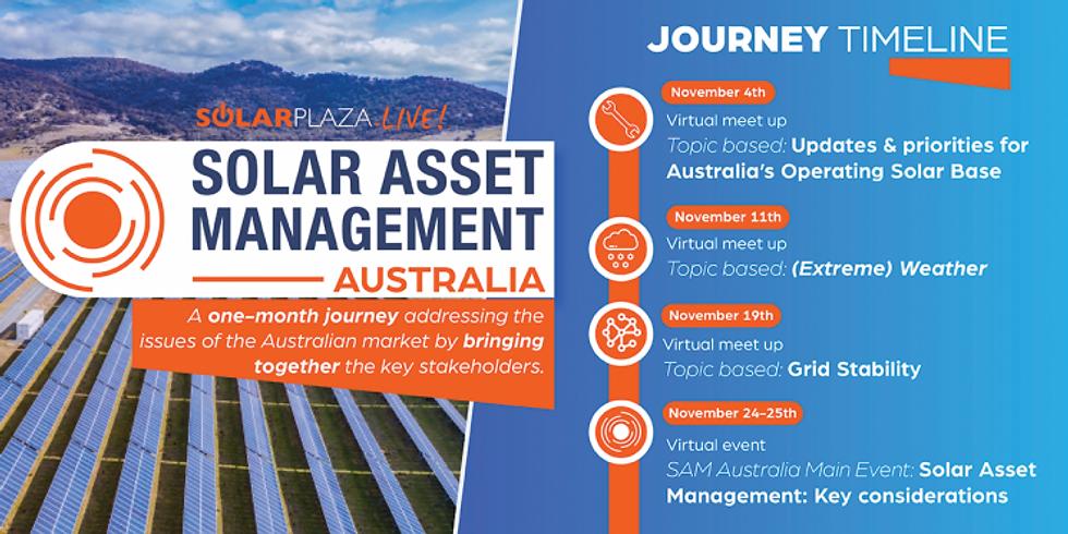 Solar Asset Management November Virtual Journey