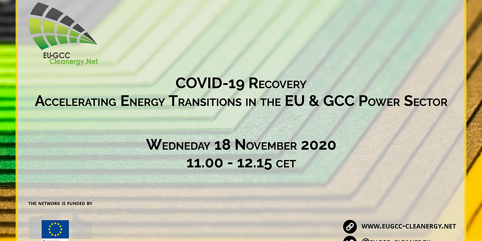 COVID-19 Recovery: Accelerating Energy Transitions in EU & GCC Power Sector