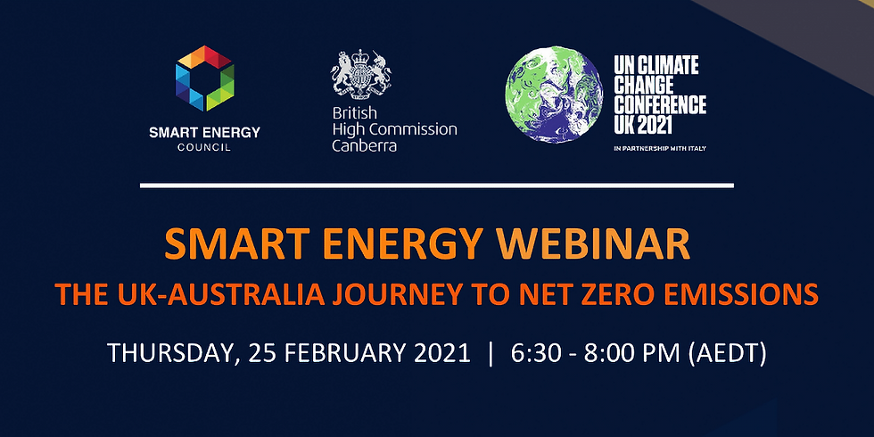 The UK-Australia Journey to Net Zero Emissions