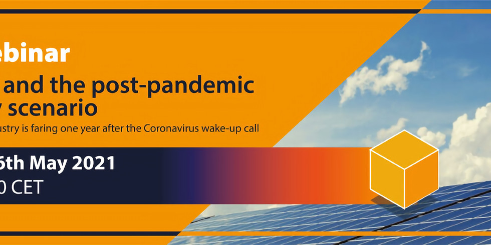 Solar PV and the post-pandemic recovery scenario.