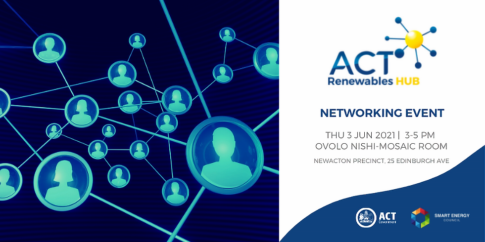 ACT Renewables Hub Networking Event