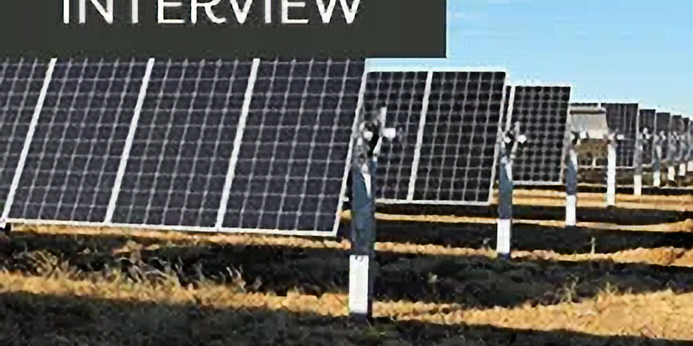 Interview Series Episode 17: Trends in Large Scale Solar