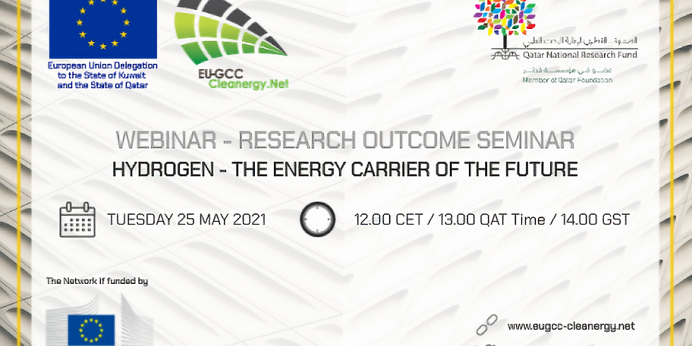 Research Outcome Seminar: Hydrogen, the energy carrier of the future