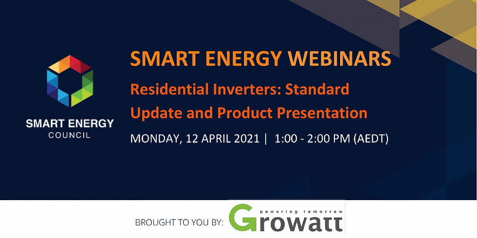 Residential Inverters: Standard Update and Product Presentation