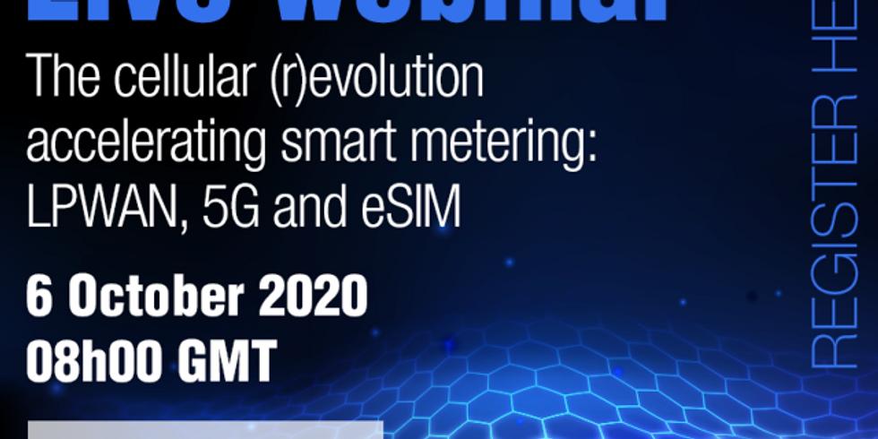 The cellular (r)evolution accelerating smart metering: LPWAN, 5G and eSIM