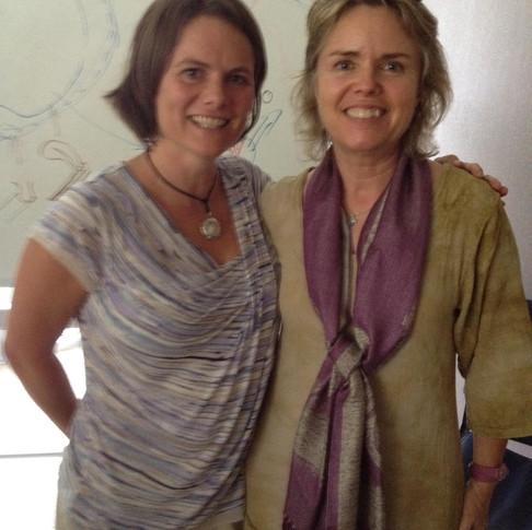 Dr. Randine Lewis and Cara Bergman