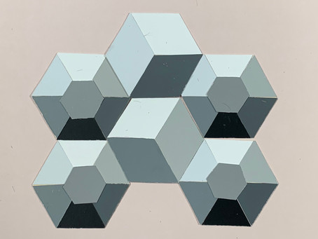 The Hexagon and the Construction of Three Dimensional Form
