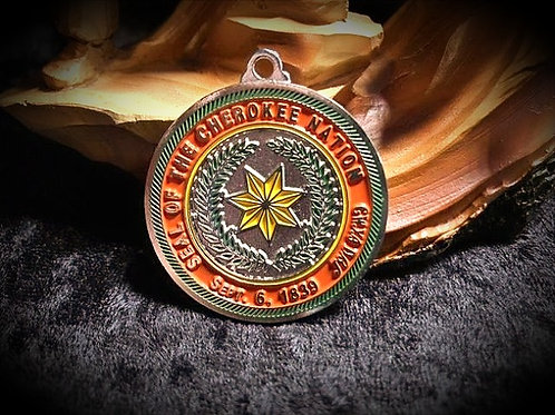 Western Band Cherokee Pendent Necklace