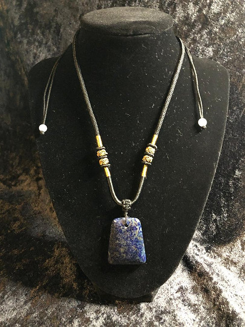 Lapis Lazuli Pendent Necklace