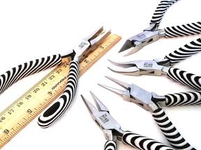 Jewelry Making Tool Kit, Zebra Print