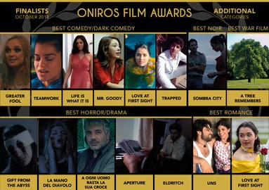 Oniros Film Awards FINALIST ( Best Dark Comedy Film )