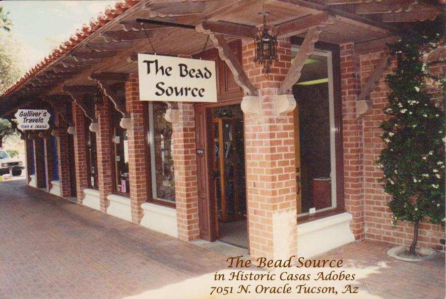 The Bead Souce in Casas Adobes Shopping Mall in Tucson Arizona