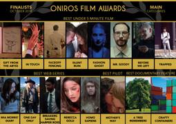 Oniros Film Awards FINALIST ( Best Under 5 Minute Film )