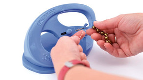 Knot-a-Bead Tabletop Knotter Tool By The Beadalon