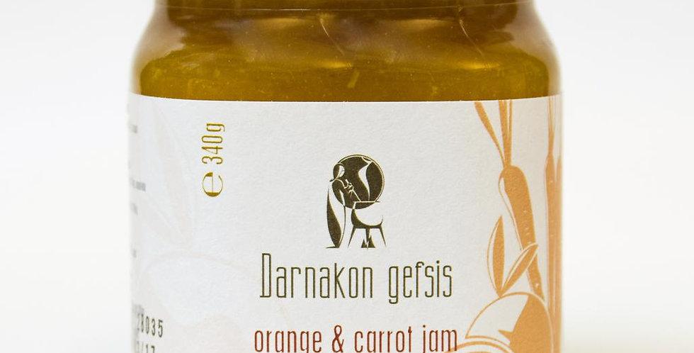 Orange und Karotte Marmelade (340g)