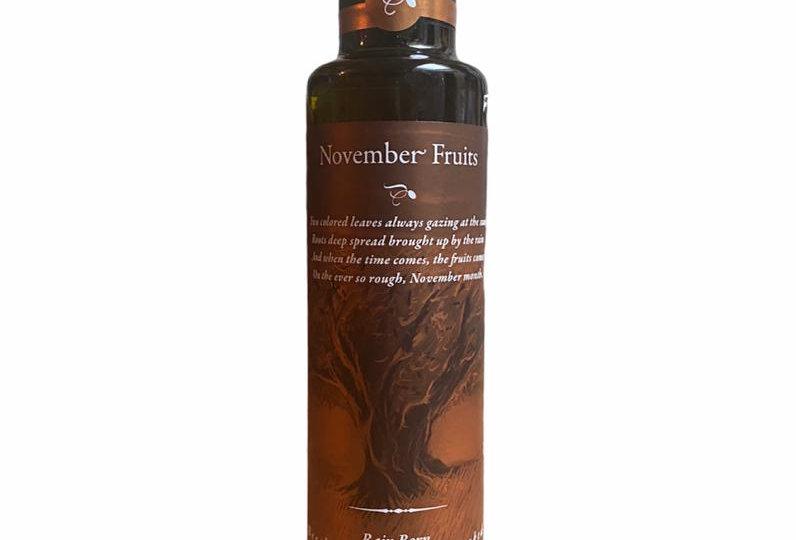 Buche und Eichenholz geräuchertes extra natives Olivenöl (250ml)