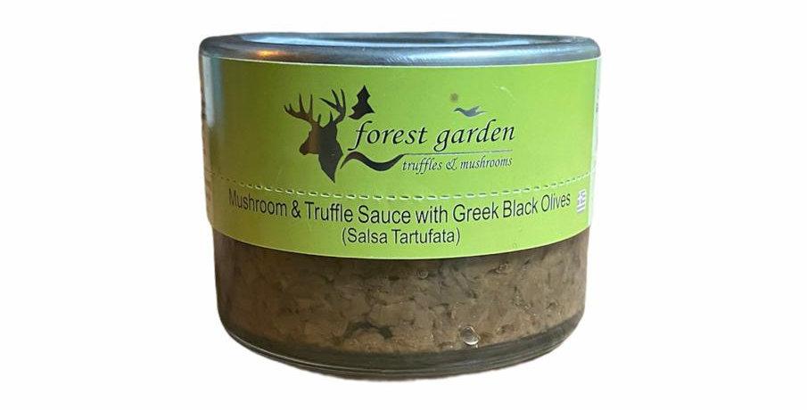 Tartufata Sauce mit schwarzen Oliven (100g)