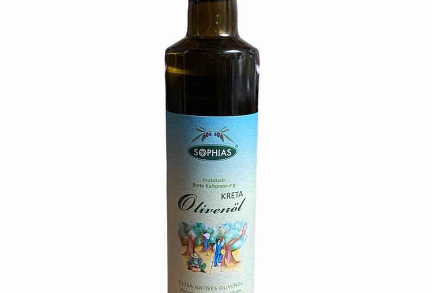 Sophias extra natives Olivenöl aus Kreta (500ml)