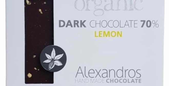 Bio Zartbitter Schokolade mit Zitrone (90g)