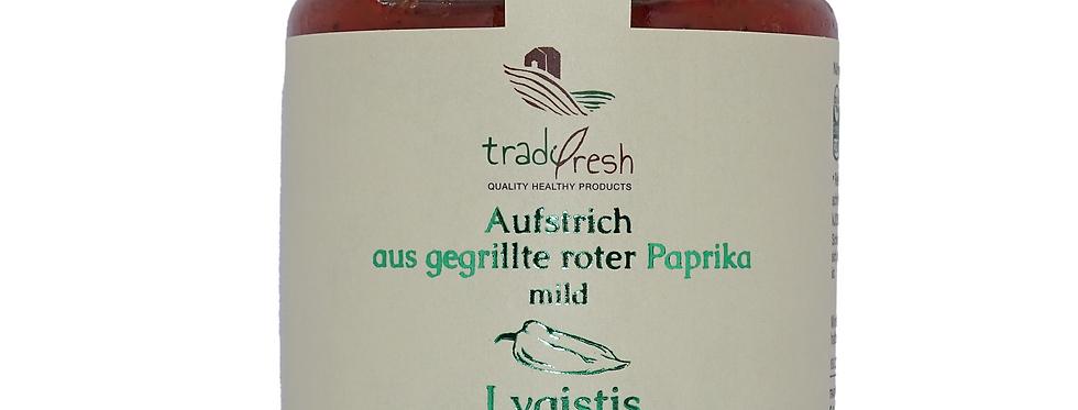 Aufstrich aus gegrillter roter Paprika (mild) (260g)