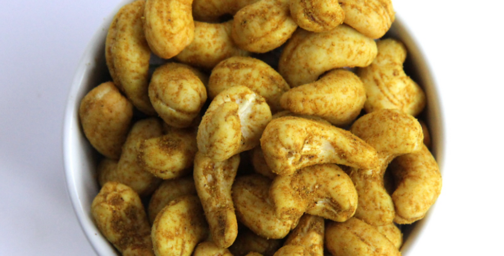 Cashewkerne, mit Curry (250g)
