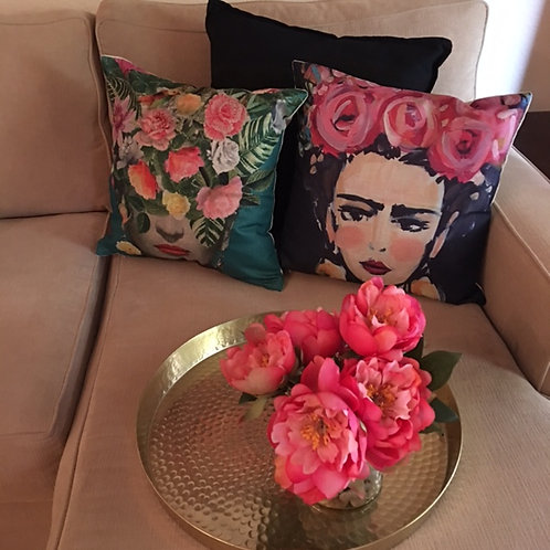 frida pillow covers