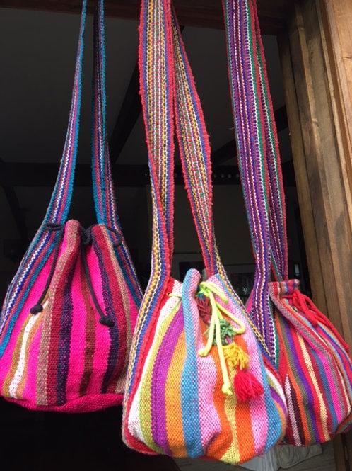 boho bags - the pinks
