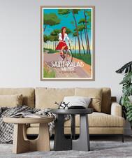 doz-affiche-vintage-saint-palais-sur-mer