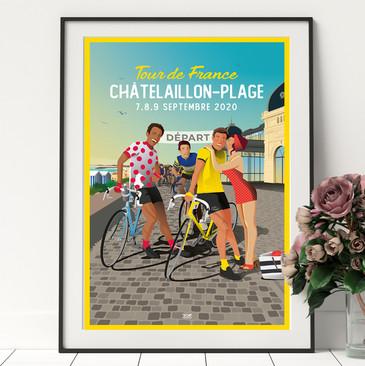 doz-affiches-vintage-chatelaillon-tour-d