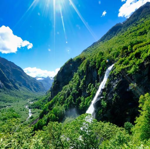 Foroglio Waterfall