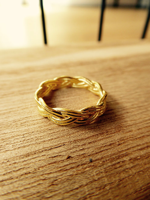 GOLDENER BASIC RING (3 GRÖSSEN)