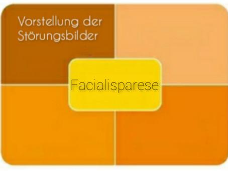 Vorstellung der Störungsbilder: Facialisparese