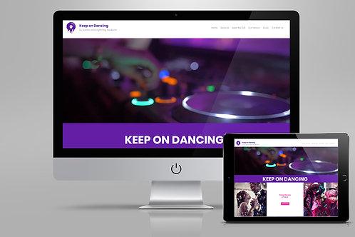 DJ - Website Template