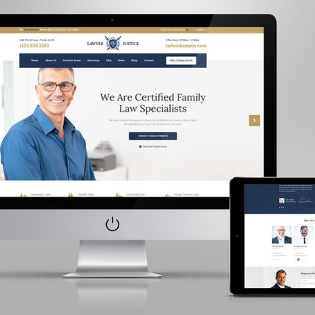 Custom Attorney Websites