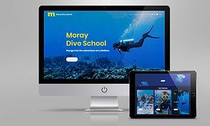 ! 2021 BCD DIVE SCHOOL website mock up.j
