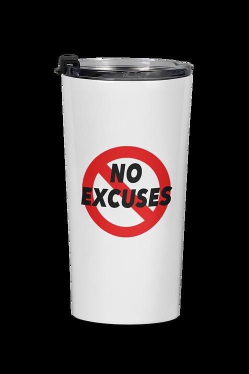 No Excuses Travel Mug